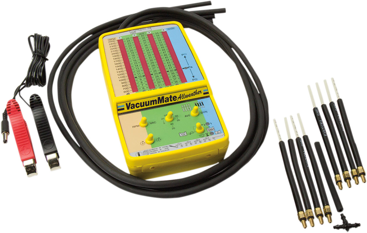 TecMate OptiMate VacuumMate Allweather Marine Grade Carburetor/Fuel  Injection Manometer TS-72