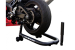 PSR Spool & Non-Spool Rear Motorcycle Stand (Black) 00-00100-02