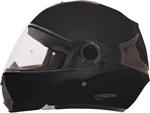 AFX FX36 Modular/Flip-Up Motorcycle Helmet (Black)