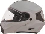 AFX FX36 Modular/Flip-Up Motorcycle Helmet (Silver)
