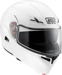 AGV Numo EVO ST Modular Flip-Up Motorcycle Helmet w/ Sun Visor (Gloss White)