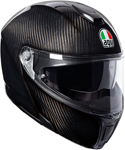 AGV Sport Modular Flip-Up Helmet w/ Sun Visor (Gloss Carbon)