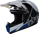 Z1R Kids RISE Off-Road Motorcycle Helmet (Blue)