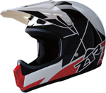Z1R Kids RISE Off-Road Motorcycle Helmet (Red)