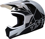 Z1R Kids RISE Off-Road Motorcycle Helmet (White/Black)