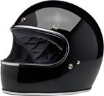 Biltwell Inc Gringo DOT/ECE Retro Full-Face Helmet (Gloss Black)