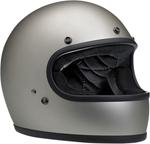 Biltwell Inc Gringo DOT/ECE Retro Full-Face Helmet (Flat Titanium)