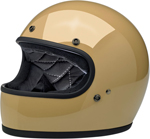 Biltwell Inc Gringo DOT/ECE Retro Full-Face Helmet (Gloss Coyote Tan)