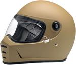 Biltwell Inc Lane Splitter Retro-Style Motorcycle Helmet (Flat Coyote Tan)