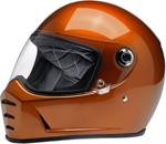 Biltwell Inc Lane Splitter Retro-Style Motorcycle Helmet (Gloss Copper)