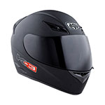 AGV K-3 Full-Face Helmet (Flat Black)