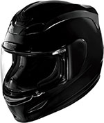 ICON Airmada Full Face Helmet Solid Gloss (Black)