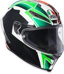AGV Corsa R Full-Face Motorcycle Helmet (Balda 2016 Black/Green/Red/White)