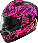 Icon Motosports Alliance GT BIRD STRIKE Full-Face Helmet (Pink)