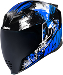 Icon Motosports Airflite STIM Full-Face Helmet (Blue)
