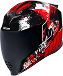 Icon Motosports Airflite STIM Full-Face Helmet (Red)