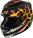 Icon Motosports Airmada SAUVETAGE Full-Face Helmet (Yellow)