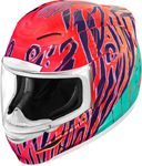 Icon Motosports Airmada WILD CHILD Full-Face Helmet (Orange)