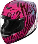 Icon Motosports Airmada WILD CHILD Full-Face Helmet (Purple)