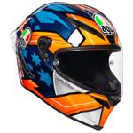 AGV Corsa R MILLER 2018 Replica Helmet (Blue/Orange)