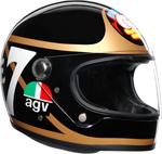 AGV Legends X3000 Limited Edition Barry Sheene Replica Helmet (Black/Gold)