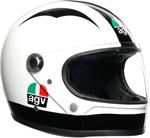 AGV Legends X3000 Limited Edition Nieto Tribute Helmet (White/Black)