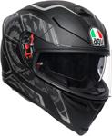 AGV K5 S Tornado Sport Helmet w/ Sun Visor (Black/Silver)