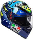 AGV K3 SV Rossi Misano 2015 Shark Sport Helmet w/ Sun Visor