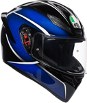 AGV K1 QUALIFY Sport Helmet (Black/Blue)