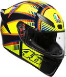 AGV K1 SOLELUNA 2015 Sport Helmet (Fluo Yellow/Black)
