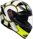 AGV K1 GOTHIC 46 Sport Helmet (Fluo Yellow/Black/White)
