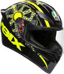 AGV K1 FLAVUM 46 Sport Helmet (Fluo Yellow/Black)