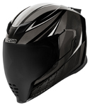 Icon Motosports Airflite QB1 Full-Face Helmet (Black)