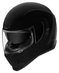 Icon Motosports AIRFORM Full-Face Helmet (Gloss Black)