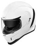 Icon Motosports AIRFORM Full-Face Helmet (Gloss White)