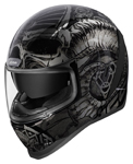 Icon Motosports Airform SACROSANCT Full-Face Helmet (Black)