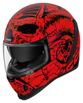 Icon Motosports Airform SACROSANCT Full-Face Helmet (Red)
