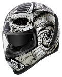 Icon Motosports Airform SACROSANCT Full-Face Helmet (White)