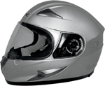 AFX FX90 Full-Face Motorcycle Helmet (Silver)