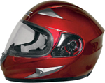 AFX FX90 Full-Face Motorcycle Helmet (Wine Red)