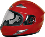 AFX FX90 Full-Face Motorcycle Helmet (Red)
