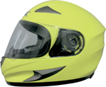 AFX FX90 Full-Face Motorcycle Helmet (Hi-Vis Yellow)
