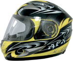 AFX FX90 DARE Full-Face Motorcycle Helmet (Yellow)