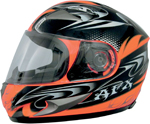 AFX FX90 DARE Full-Face Motorcycle Helmet (Safety Orange)