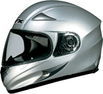 AFX FX-MAGNUS Big Head Full-Face Motorcycle Helmet (Silver)