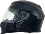 AFX FX120 Solid Full-Face Motorcycle Helmet (Black)