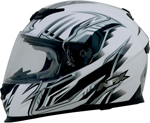 AFX FX120 Graphic Full-Face Motorcycle Helmet (Pearl White)
