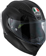 AGV PISTA GP CARBON FIBER Full-Face Racing Helmet (Black)