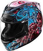 ICON Airmada Street Helmet (SUGAR Blue/Pink)