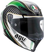 AGV Corsa RACETRACK Full-Face Helmet (Red/White/Green)
